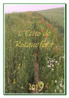 Echo de Rocquefort 2019